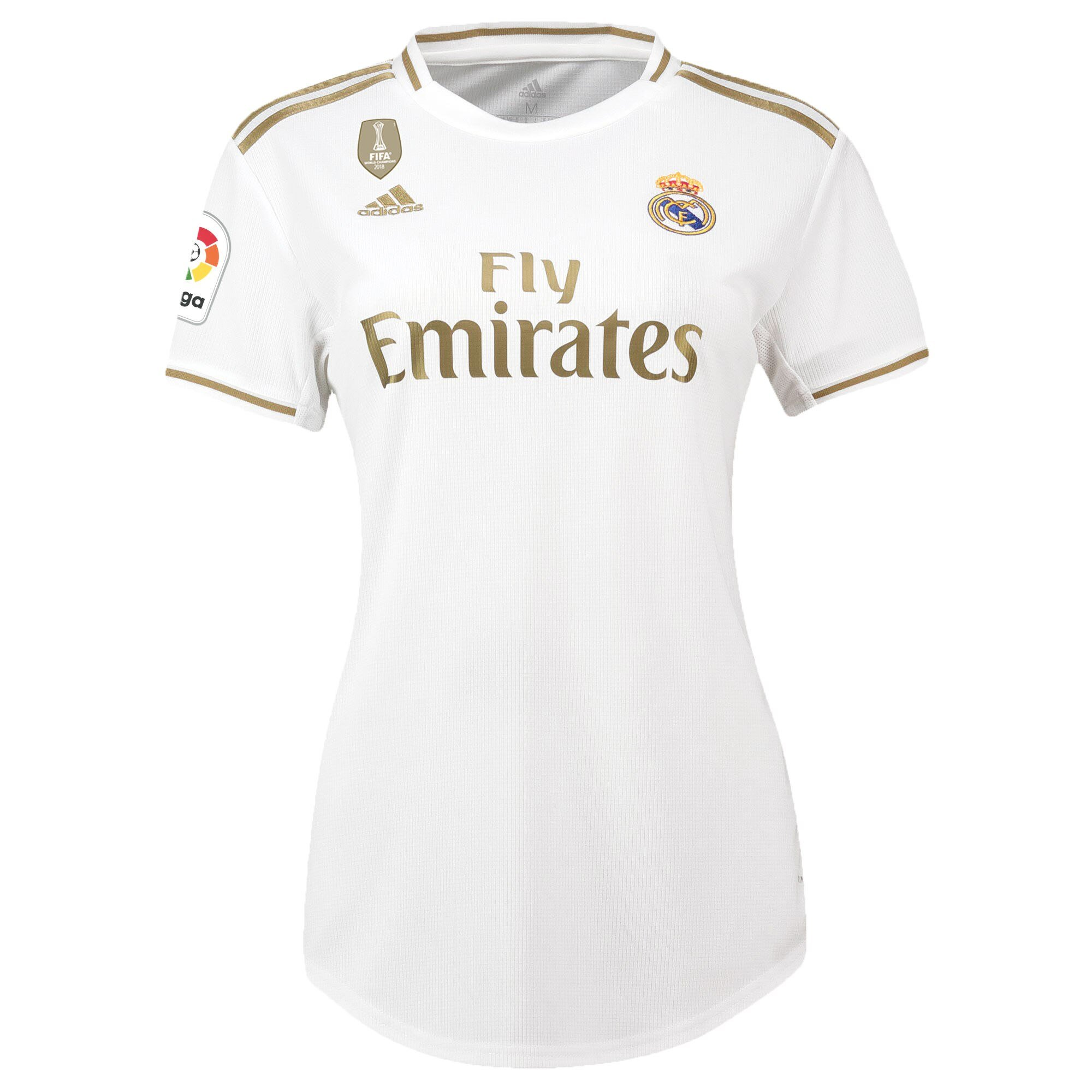 Real Madrid 19/20 Women's Home Jersey by adidas - BuyArrive -