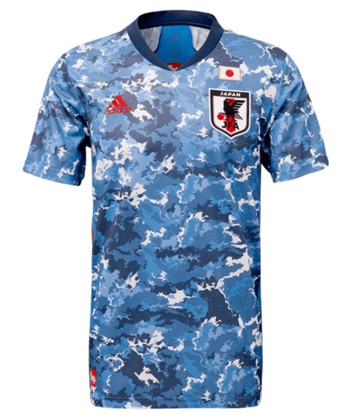 Japan 2020 Home Jersey by adidas - BuyArrive -