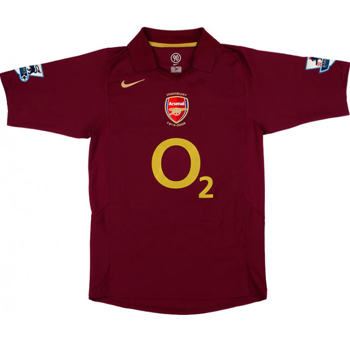 Arsenal FC Authentic Home Jersey 05/06