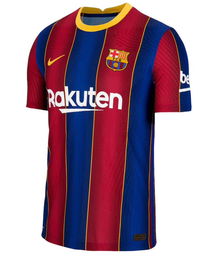 Fc Barcelona 20 21 Authentic Home Jersey By Nike