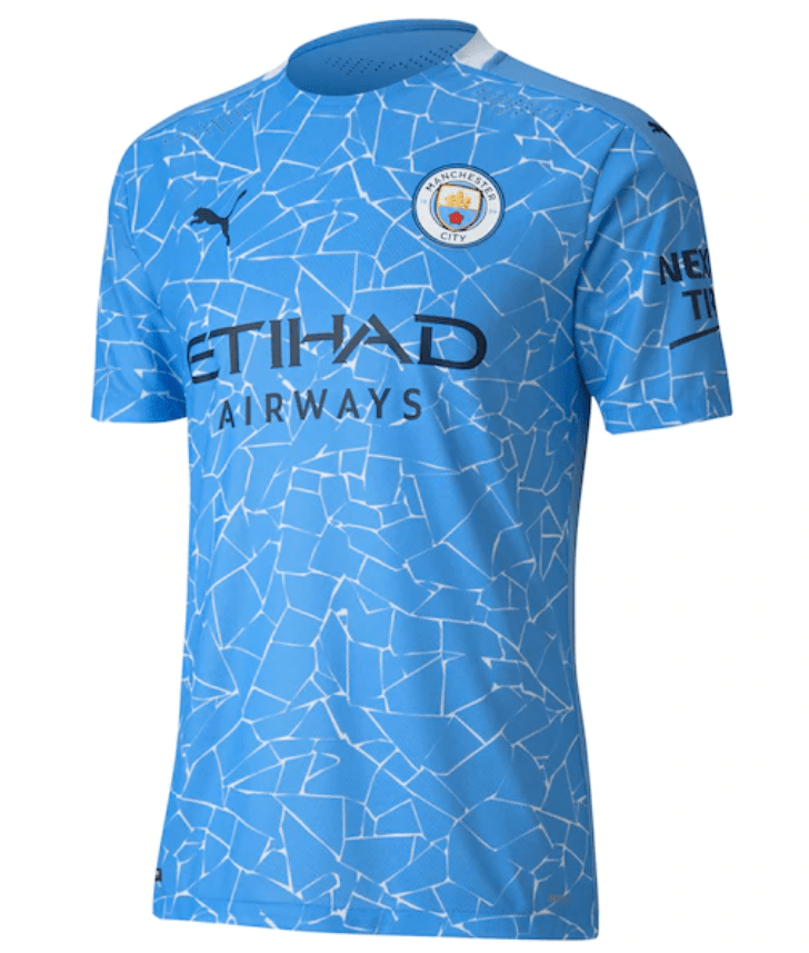 Manchester City Authentic Home Jersey 20/21 by PUMA