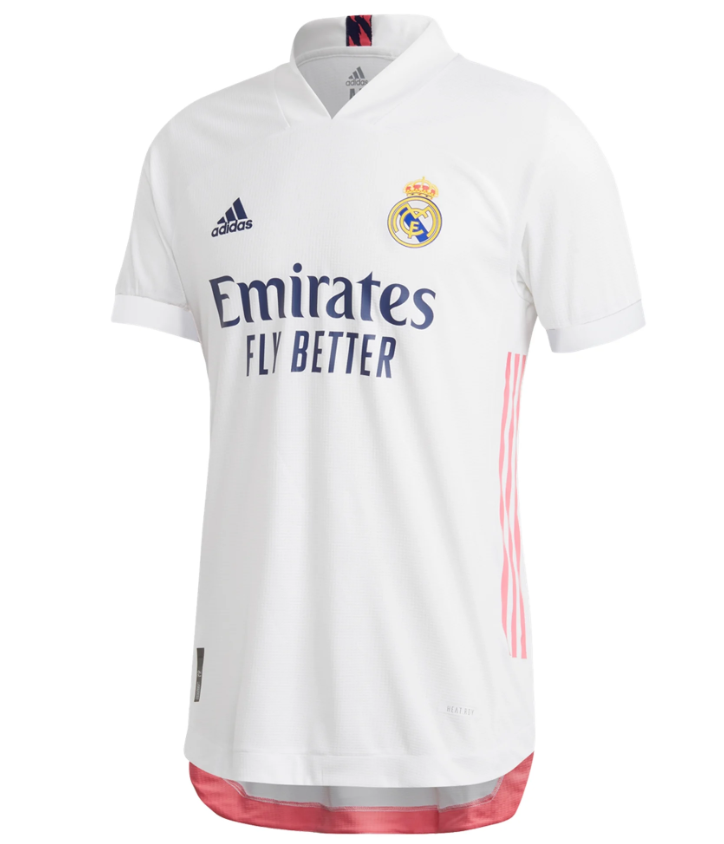 Real Madrid 20/21 Authentic Home Jersey by adidas - BuyArrive -