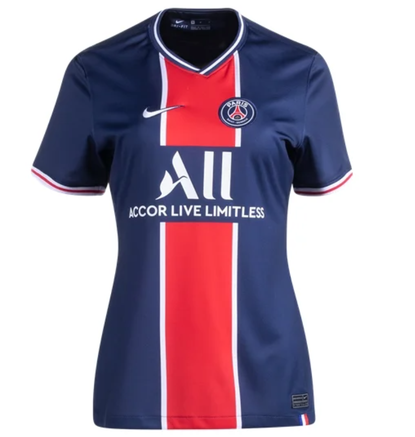 PSG 20/21 Women's Home Jersey by Nike