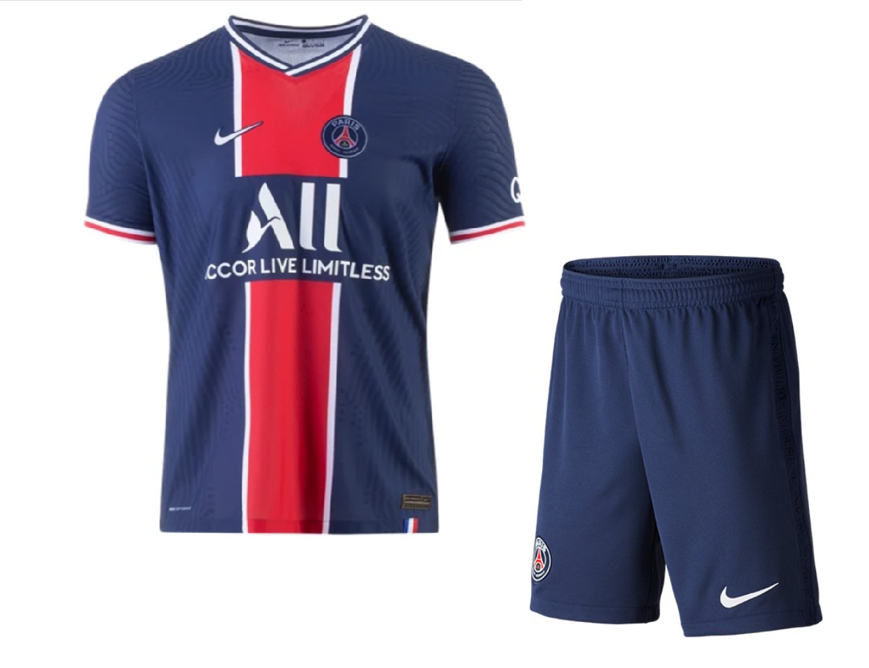 PSG 20/21 Authentic Home Kit by Nike