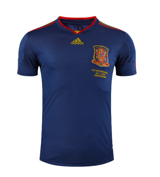 Spain 2010 Authentic Away Jersey by adidas - BuyArrive -