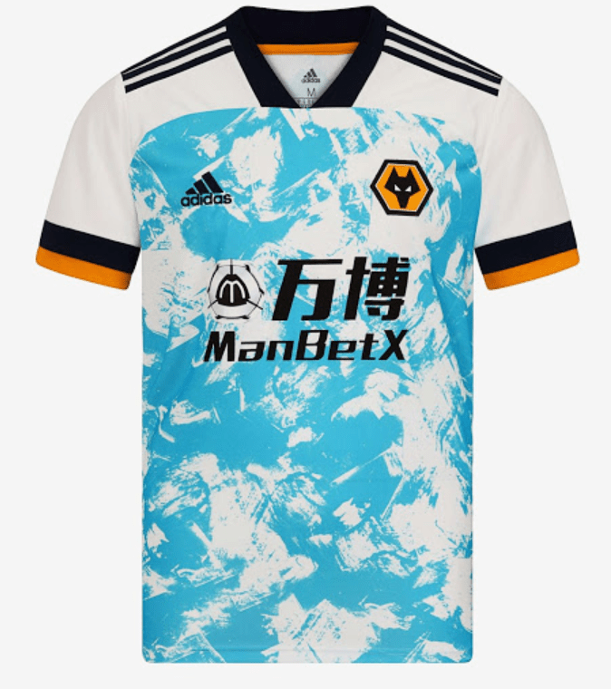 Wolves FC 20/21 Authentic Away Jersey by adidas - BuyArrive -
