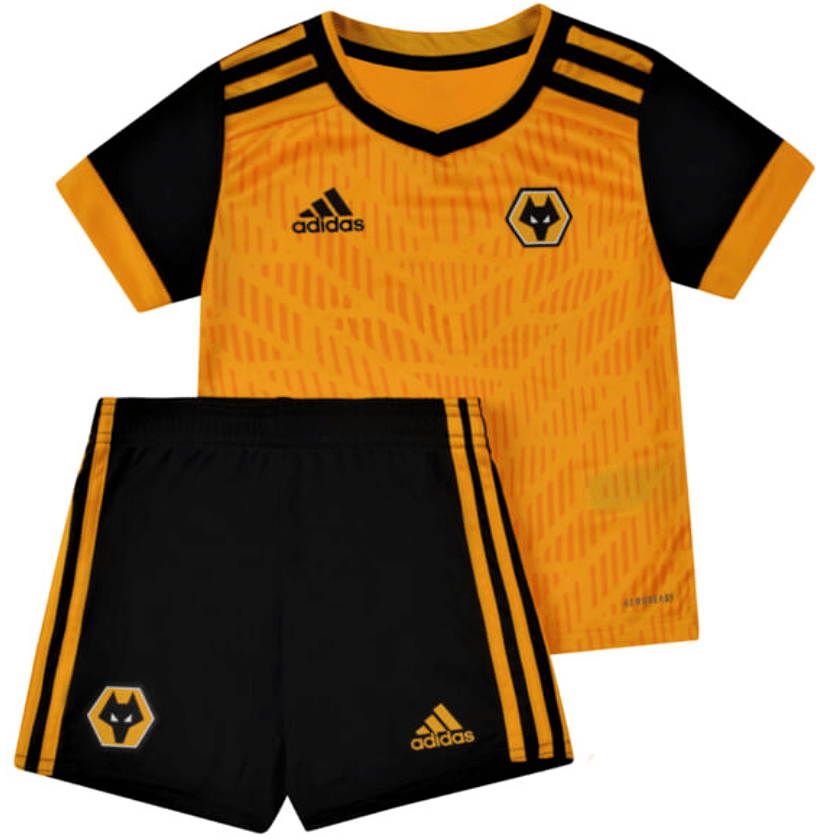 Wolves FC 20/21 Home Kids Kit by adidas - BuyArrive -