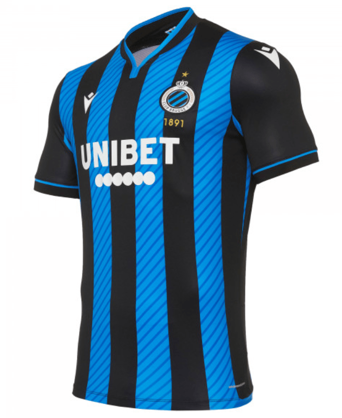 Club Brugge 20 21 Home Jersey By Macron Buy Arrive