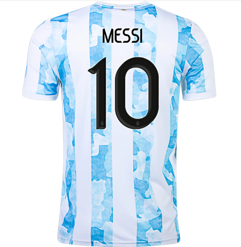 Messi Argentina 2021 Home Jersey by adidas - BuyArrive -